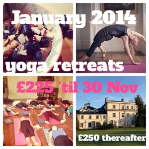 January 2014 Yoga Retreats with Stretching the City  - Early Bird Offer 'til 30th Nov