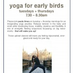 Early Morning Yoga Deal – 5 Classes for £25 – Limited Offer!