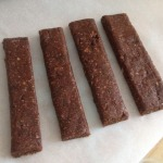 Homemade Cashew, Date, Chia & Cacao Snack Bars - Here's a few I made earlier