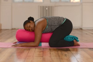 Supported Child's Pose - Paula Hines U Can Yoga